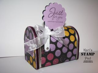 Birthday mail box